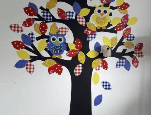 Kinderzimmer – Dekorative Wandgestaltung
